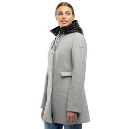 CAPPOTTO CON CAPPUCCIO IN NYLON STACCABILE DONNA MIXTURE