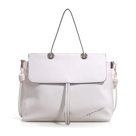 BORSA GARDENIA POSTY PROGRESS WHITE LE PANDORINE