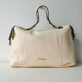 BORSA BAULETTO IN SIMILPELLE NEVE TWINSET