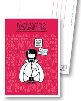 """Postkarte """"Wampir"""""""