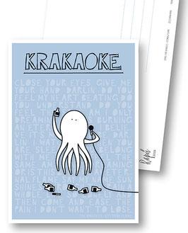 "Postkarte ""Krakaoke"""