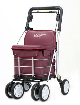 Carrito de la compra LETT800 - Con asiento acolchado