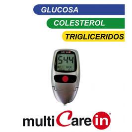 Medidor de glucosa, colesterol y triglicéridos. Ref.60905032