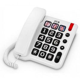 Teléfono con teclas grandes y 3 fotos. Ref.85130142