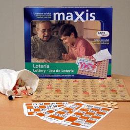 """Juego lotería """"MAXIS"""""""