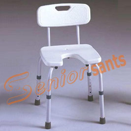 Silla ducha regulable en altura. Ref.30210060