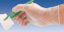 Guante de vinilo elástico. Peha-soft Syntex. Ref.80510070