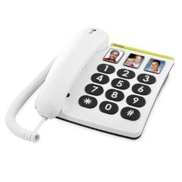 Teléfono fijo con teclas grandes y fotos. (DORO) Ref.85130110