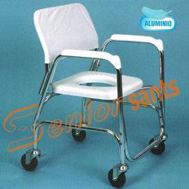 Silla de ruedas para ducha y WC. Ref.30253010