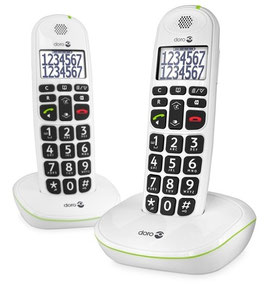 Teléfono inalámbrico 110w DUO. (DORO) Ref.85131070