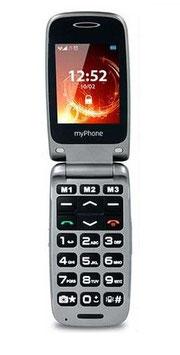 Teléfono móvil teclas grandes con tapa. Ref.85132230
