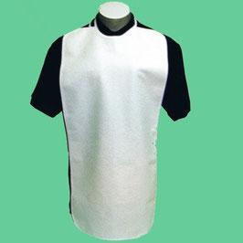 Babero impermeable rizo largo. Ref.10480020