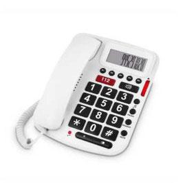 Teléfono teclas grandes y pantalla. Ref.85130192