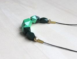 "Holzkette ""tannengrün"""