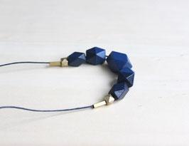 """Holzkette """"dunkelblau"""""""