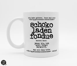 Tasse Schokofondue