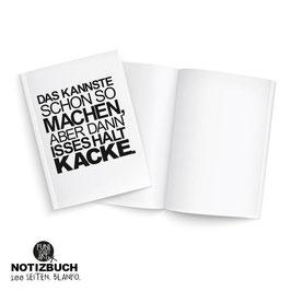 Notizbuch Suboptimal