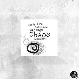 Mini-Magnet Großes Chaos