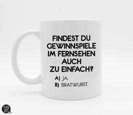 Tasse Bratwurst