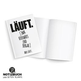 Notizbuch Läuft