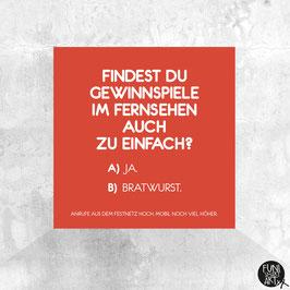 Magnet Bratwurst