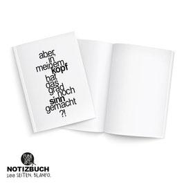 Notizbuch Sinn