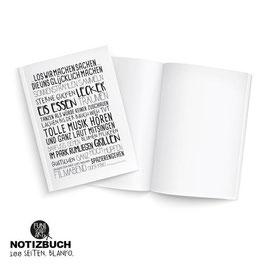 Notizbuch Glücksrezept