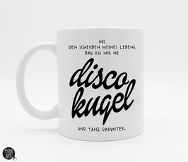 Tasse Discokugel
