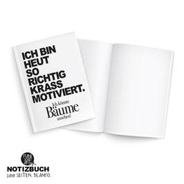 Notizbuch Motivation