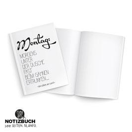 Notizbuch Gähnen
