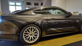 Aufklebersatz Mustang mattschwarz