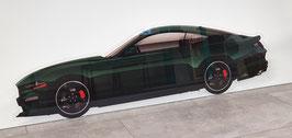 Hochwertiges Acrylschild 5mm mit klaren Kanten. Ein MUSS für jeden Mustangfan.
