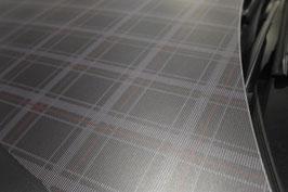 Sk Folie mit GTI Sitzbezug Optik, matt laminiert