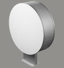 Leuchtkasten beidseitig Scheibe rund |Durchmesser: 600 mm | mit Beschriftung