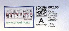 Briefmarken Angelman Verein Schweiz