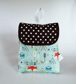 Kleinkinder Rucksack Summer Camp, Kindergartentasche personalisiert, Handmade