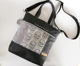 Handtasche Heidi Kunstleder Unikat, Handmade