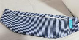 Hüfttasche, Gürteltasche, Bauchtasche Streifen, Jeans