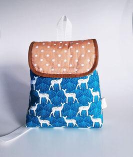 Kleinkinder Rucksack weiße Rehe, personaliert