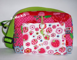 Kindergartentasche, Patchworktasche Rosenreslie