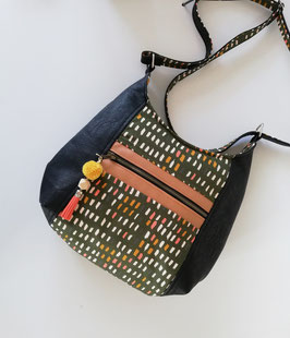 Beuteltasche Hobo Tasche Haya Bag Unikat Handmade