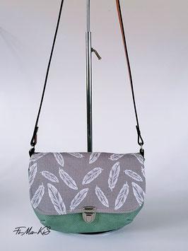 Kunstledertasche Eleni -Feder