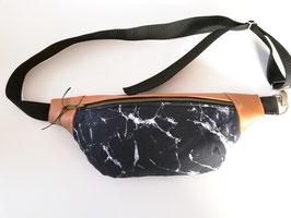 Hüfttasche, Gürteltasche Marmor, Handmade