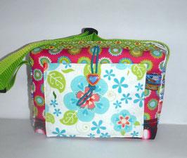Kindergartentasche, Patchwork Erdbeere