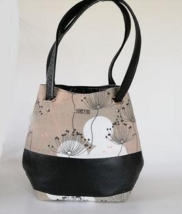 Damentasche//Schultertasche Pusteblume//Handmade