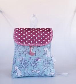 Kinderrucksack Feenwald, Kindergartentasche, personalisiert