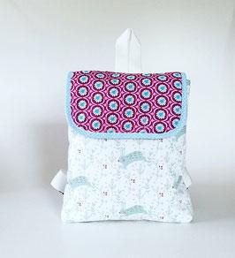 Kinderrucksack Marie, Kindergartentasche, Handmade