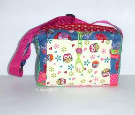Kindergartentasche, Patchworktasche Röschen