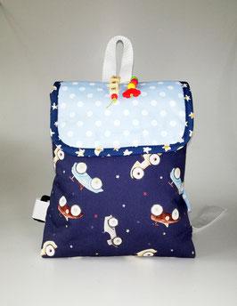 Kleinkinder Rucksack Auto, Kindergartentasche personalisiert, Handmade