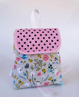 Kinderrucksack Mira -rosa, personalisiert//Kindergartentasche//Handarbeit
